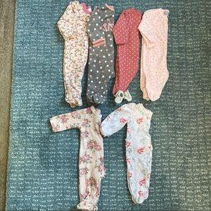 Baby Footed Pajama Bundle (5 pieces)